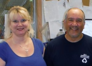 office staff at All American Recycling in Austin, Texas