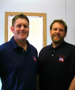 All American Recycling owners, Ryan and Austin Borders