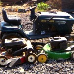 recycled lawnmowers